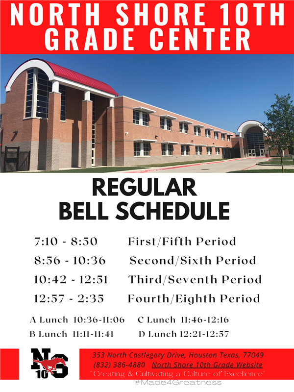 NS10 Regular Bell Schedule