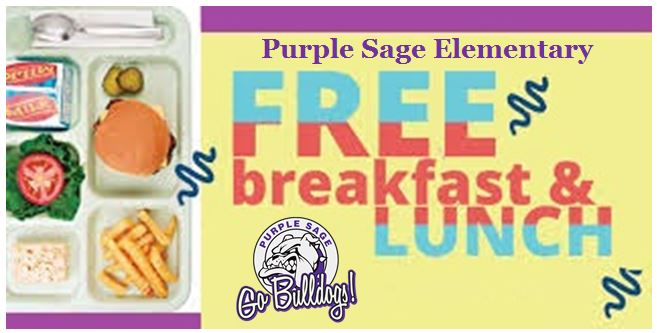 Healthy Free Breakfast and Lunches Provided Daily