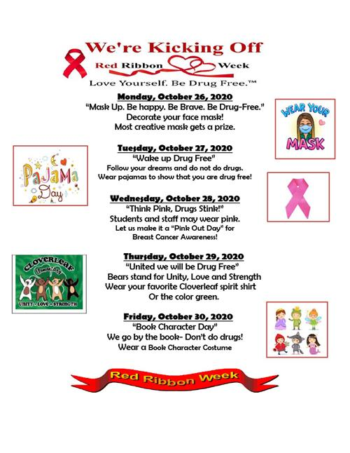 Red Ribbon Week English